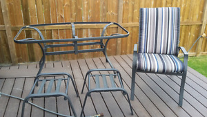 Patio set for $150
