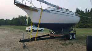 29 ft Bayfield with trailer $15,400 obo