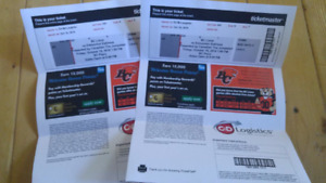 BC Lions Tickets for Tonight's Game (v. Edmonton Eskimos)
