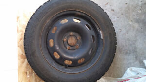 195/ 65 r15 Goodyear Nordic Winter Tires & Rims for sale