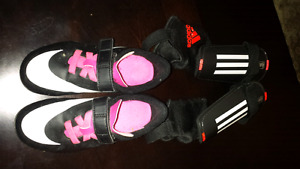 Girls Size 11 soccer shoes