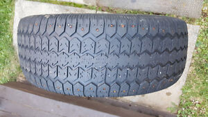 Uniroyal Studded Tiger Paw Ice and Snow Tire