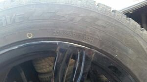 Tires and Rims - Under 5,000 kms on Tires Strathcona County Edmonton Area image 2