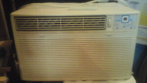 Remote window a/c unit