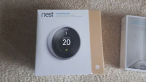 NEST Learning Thermostat & (3) Temp Sensors - NEW UNOPENED