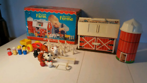 FERME FISHER PRICE vintage 915 complet