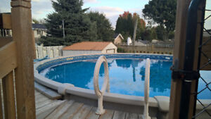 4 yr old 21ft pool with all accessories