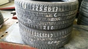 Pair of 2 Continental ContiProContact SSR (run-flat) 225/50R17 t