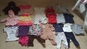 Kids clothes ages 0 to 2t