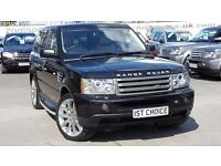 2009 LAND ROVER RANGE ROVER SPORT TDV6 SPORT HSE JUST 42000 MILES STUNNING AND