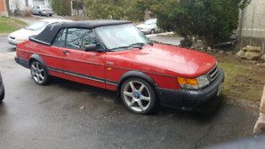 1990 saab 900 turbo convertible