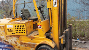 YALE FORK LIFT FOR SALE