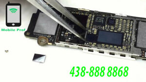 Micro Soldering/Soudure ic touch-charge-backlight-charge..