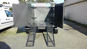 FROM ONLY $47 P/WEEK ON FINANCE* 8x5 BOX TIPPER WITH RAMPS Narre Warren Casey Area Preview
