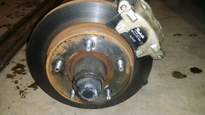 73 international front axle