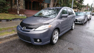 2007 Mazda5 GT Low Kms with Engine starter MiniVan