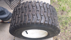 on/off road utility trailer tires