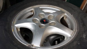 Pontiac Montana Tires and alloy rims