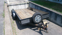 TRAILERS FOR RENT - 6'X10' CARGO & 7'X16' FLAT DECK