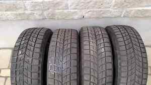 Set of 195 65 25 Bridgestone Blizzak WS60