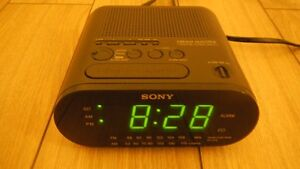 Sony Alarm Clock/Radio