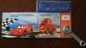Cars book with wrench London Ontario image 2