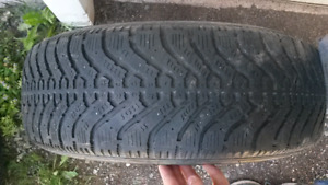 195/70/14 tire with rim