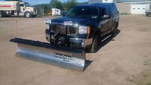 snow dog 8' stainless plow