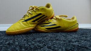 Adidas F50 Adizero FG Indoor Soccer Shoes   Solar Gold
