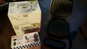 Grills, dishes and blender