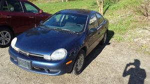 2000 Chrysler Neon Will never leave u on the side of the road