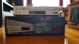 DVD+CASETTE PLAYER AND RECORDER