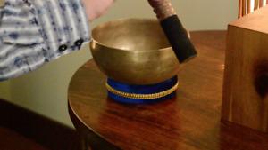Hand Hammered Singing Bowl Made in Nepal