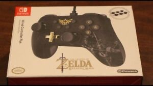 Switch Zelda wired controller for sale