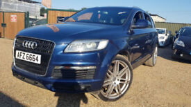 Audi Q7 TDI S Line Auto Quattro