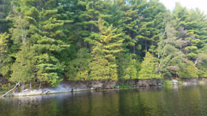 Waterfront lot, Sharbot Lake 4.7 acres $165,000