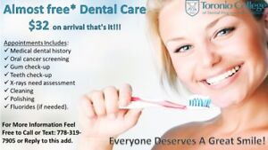 Basically Free* Dental care... Dont miss this Oppertunity!!