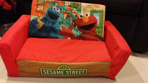 Sesame Street Soft fold out couch