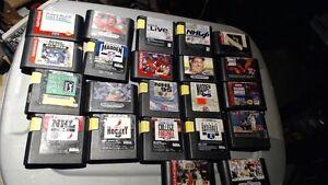 Sega Genesis 2 controllers and 22 games