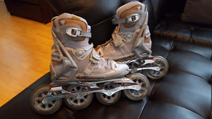 "Comme Neuf!! Patin ""Rollerblade"" 360°Activa Pro True Wrap"