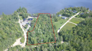 Large 2.25 Acre Lakefront Lot on Lake George