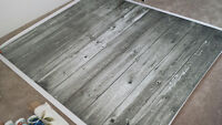 Photography floordrop 5' x 6' -- $65 (grey)