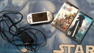Sony PSP + 2 RARE games! Final Fantasy Dissidia & Crisis Core