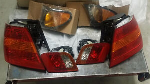 BMW 3 Series 1999-2005 side markers and tail lights
