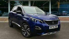 image for 2020 Peugeot 3008 SUV 1.6 13.2kWh GT e-EAT 4WD (s/s) 5dr Auto SUV Hybrid – Pet