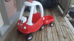 Little Tikes Car with Trailer-Canadian Tire Special Anniversary