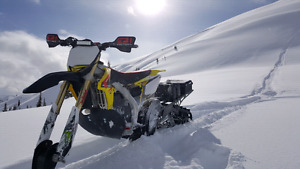 Low Hours 2013 RMZ 450 Snowbike, 2014 ST Timbersled