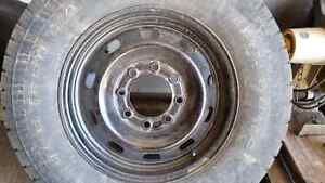 Looking for 4 wheels to fit 3/4 Ford