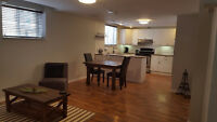 Newly renovated 1 bedroom basement apartment