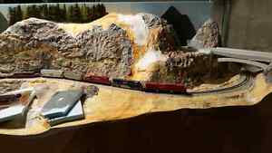 Excellent scenic N scale layout  Cambridge Kitchener Area image 1